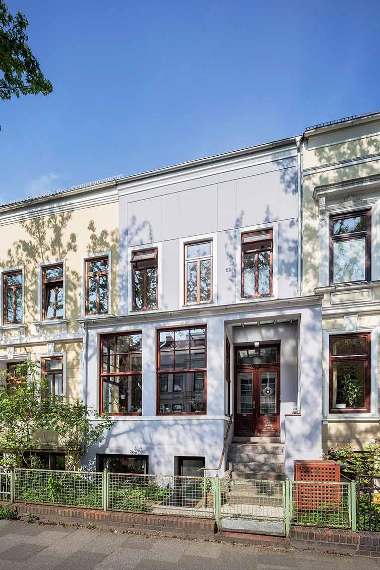 Altbremer Fenster, Bremen Steintor, Fassade