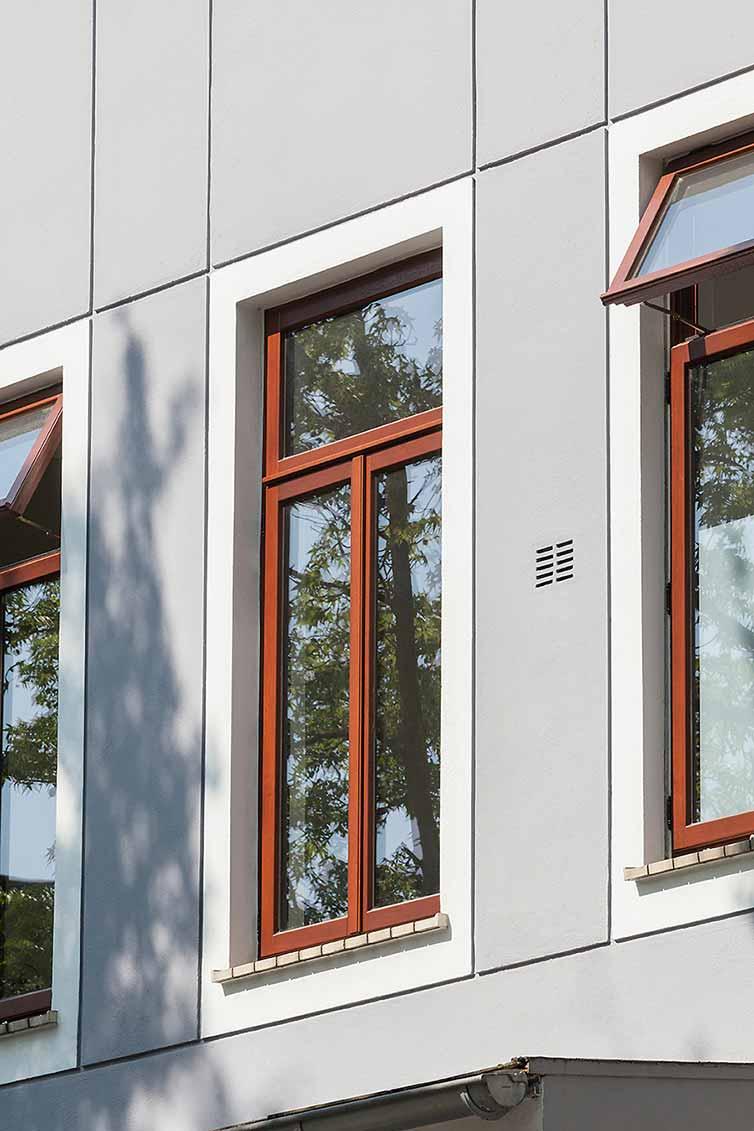 Altbremer Fenster, Bremen Steintor, Obergeschoss