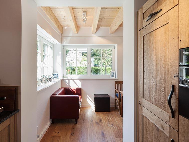 Aufstockung aus Holz, Ahrensburg, Wohnraumerweiterung