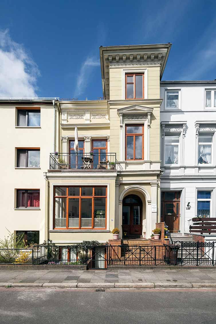 Bremer Fenster, Bremen Fesenfeld, Fassade