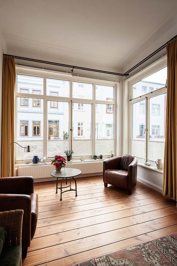 Bremer Fenster, Bremen Fesenfeld, Glasveranda