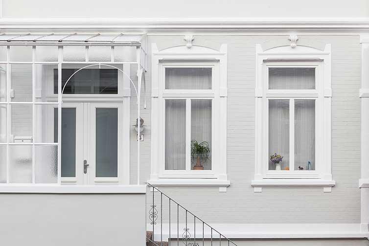 Bremer Fenster und Haustür, Bremen Buntentor