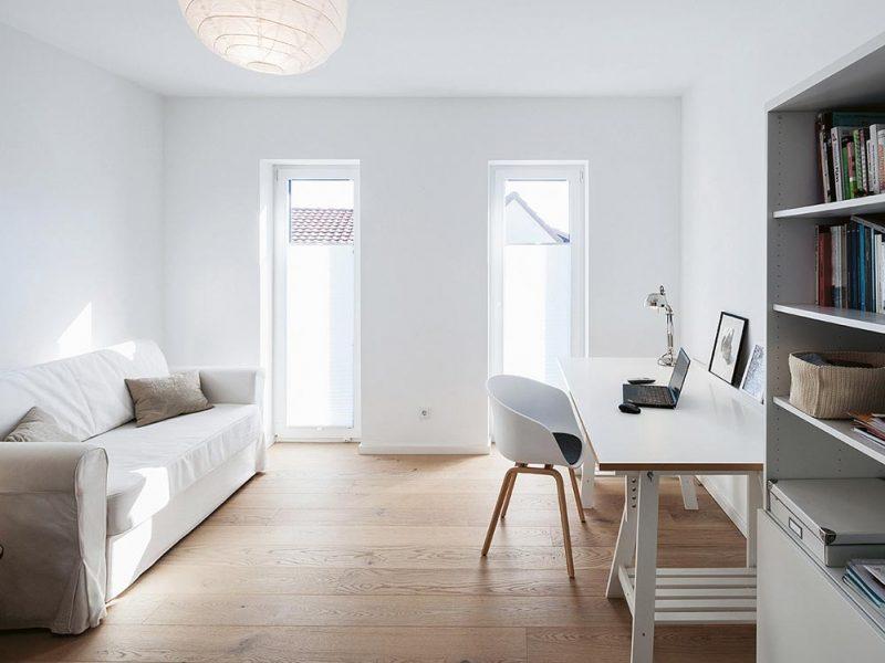 Einfamilienhaus aus Holz, Achim bei Bremen, Arbeitszimmer