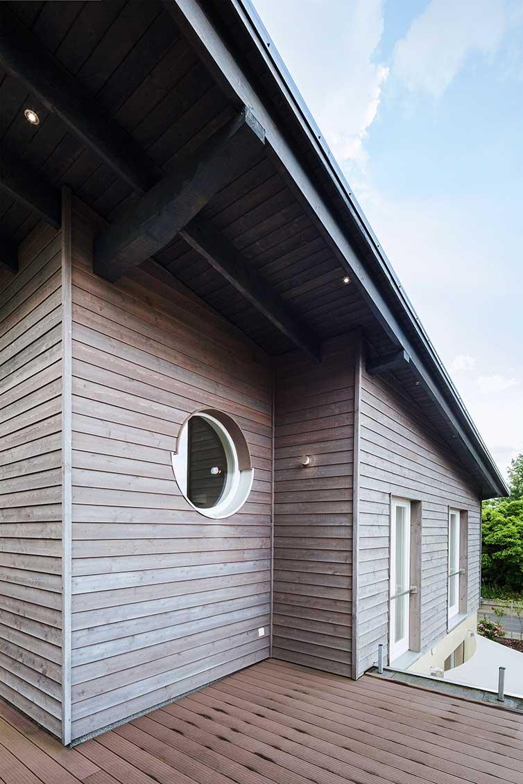 Hausaufstockung Bremen, Pultdachgeschoss mit Dachterrasse