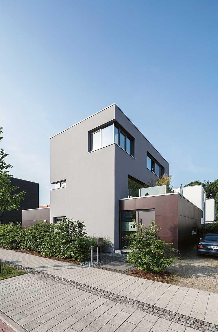Holzhaus Bremen Stadtwerder, Außenansicht